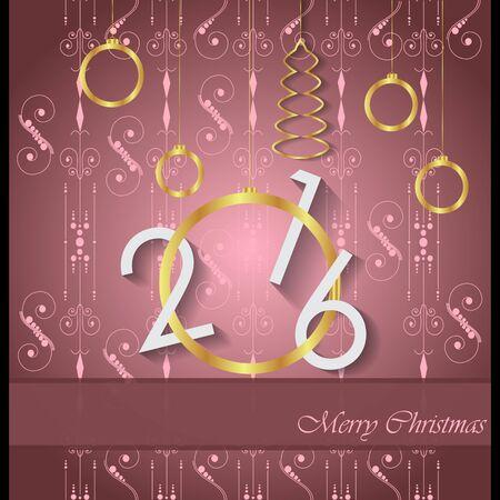 christmas greeting card: Christmas greeting card. Illustration