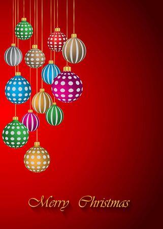 comida de navidad: Feliz fondo de Navidad.
