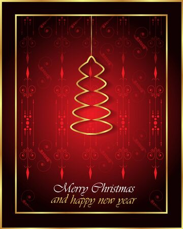 comida de navidad: Happy New Year and Happy Christmas background for your flyers, invitation, posters, greetings card