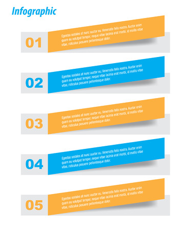infomation: Infographic template design Ideal to display data and informations. Illustration