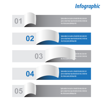 ranking: Infographic design for product ranking. Ideal for statistic data display. Illustration