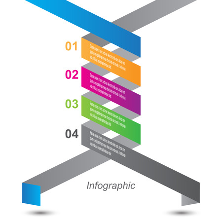 ideal: Infographic design for product ranking. Ideal for statistic data display. Illustration