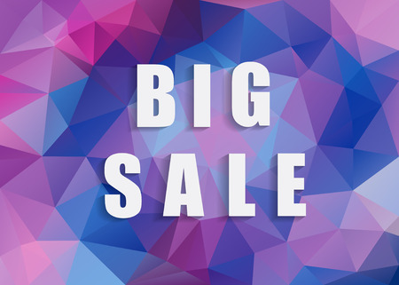 abatement: Big Sale background for your promotional posters, advertising shopping, discount banners.