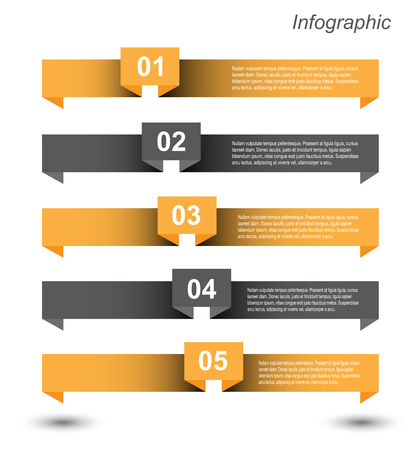 statistic: Infographic design for product ranking. Ideal for statistic data display. Illustration