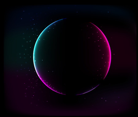 ursa: Abstract Glowing Space Background.