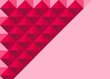 business cards: Abstract triangle background for Business cards template.