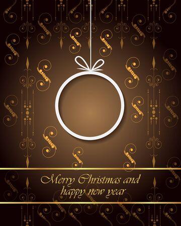 Joyeux Noël et bonne année fond pour vos invitations, affiches festives, cartes de voeux.