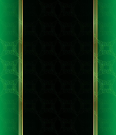 seamlessly: Seamlessly Wallpaper with dark green color tones.