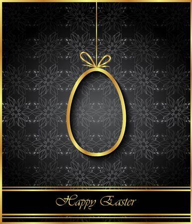 happy: Happy Easter background for your invitations, festive posters, greetings cards. Illustration