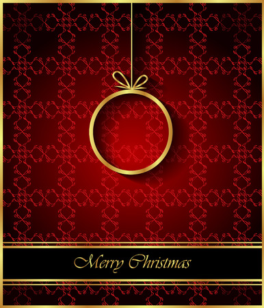 windows: 2018 Merry Christmas background for your invitations, festive posters, greetings cards.