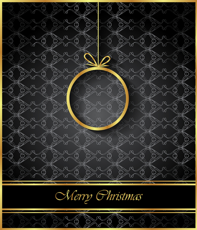 2018 Merry Christmas for your invitations, festive posters, greetings cards. Illustration