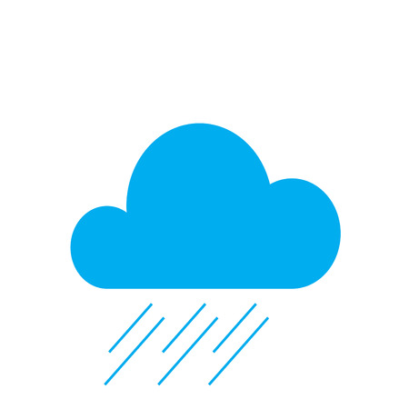 Web elements weather icons for meteorological forecast.