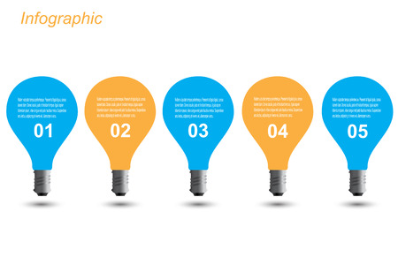 Info-graphic design template. Idea to display ranking and statistics. Reklamní fotografie - 121863424