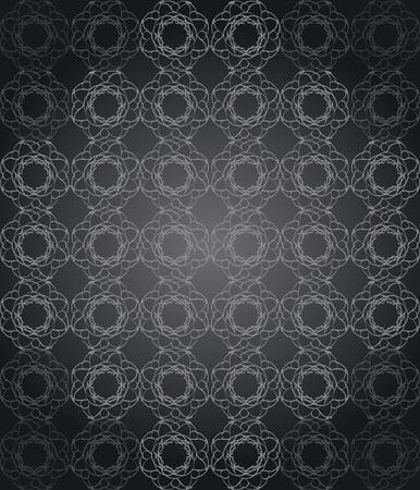 Wallpaper with dark color tones. Ilustração