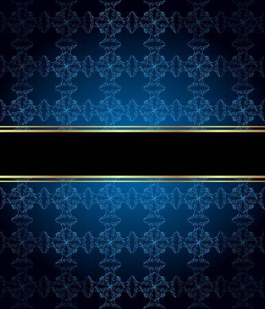 Elegante Tapete mit goldener Feindekoration und Platz für Ihren Text.