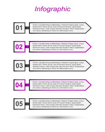 Modern Design Template, can be used for info-graphics, banners for web layout.