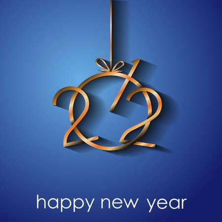 2021 Happy New Year background.