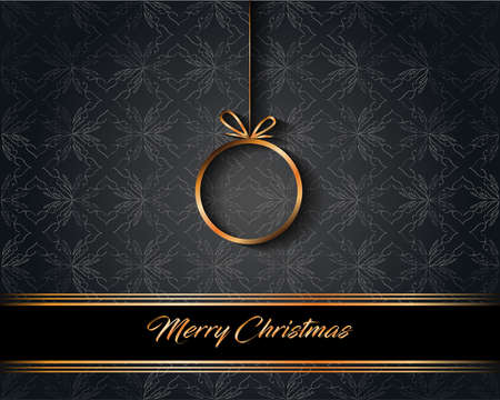 2022 Merry Christmas background for your seasonal invitations, festival posters, greetings cards. Vektorové ilustrace