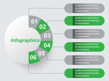 Infographics banners for web layout.