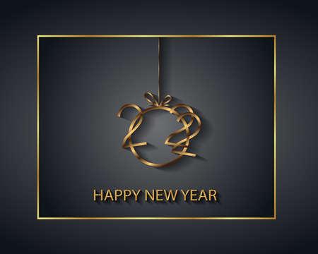2022 Happy New Year background.