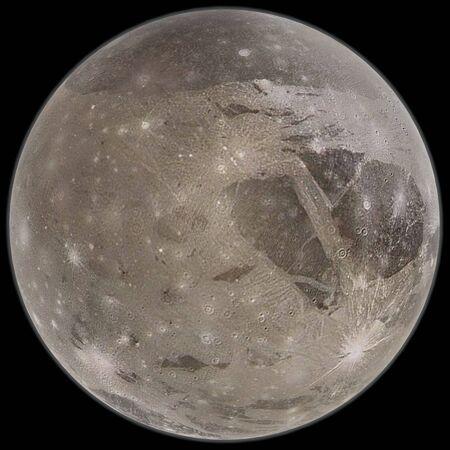 3d rendering of Ganymede Stock Photo