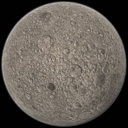 3d rendering of Mercury