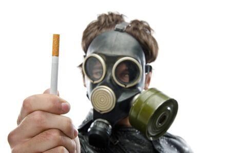 refusing: A healthy person refusing to smoke