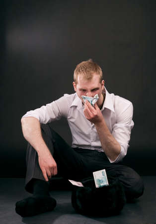 vagabond: Adult vagabond doesn Stock Photo