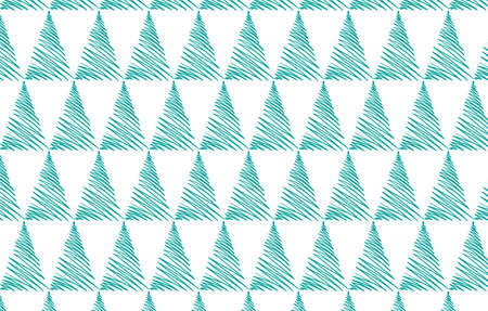 Vector seamless pattern. Modern stylish texture. Repeating geometric tiles with dotted triangles. Trendy hipster background