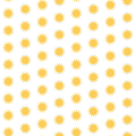 geometric yellow sunny seamless pattern for design Vektorgrafik