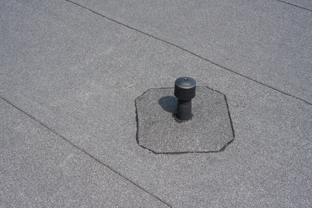 tar felt: Roof ventilation. Aerator - flat roof ventilation. Roofing felt. Roof ventilated.