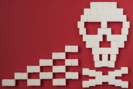 Sugar skull danger Stock Photo
