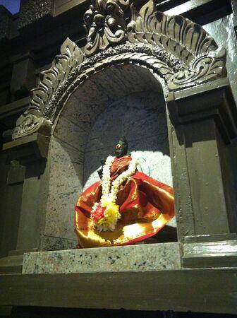 deity: Hindu deity in a temple Stock Photo