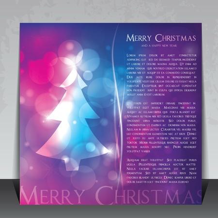 Bunte Weihnachten flyer