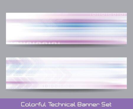 Colorful banner Illustration
