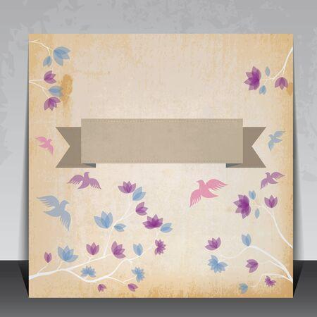 Editable Vintage Invitation card Stock Vector - 16434371