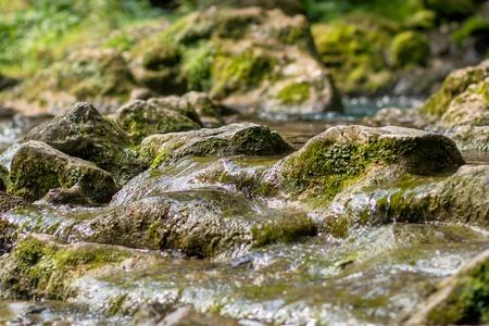 Creek closeup - friedlichen Hintergrund