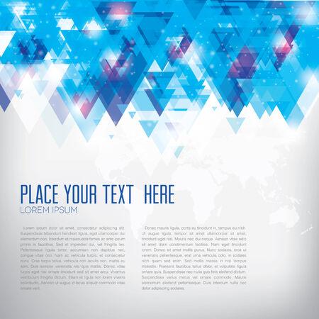 fondo geometrico: Imagen del vector del fondo abstracto y geom�trico para presentaciones de negocios o viajero