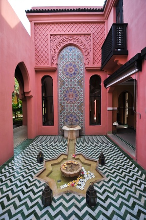 Morocco style building photo