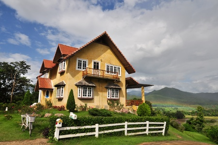 Yellow house of Pai