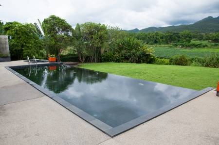 The black swimming pool Imagens - 22434729