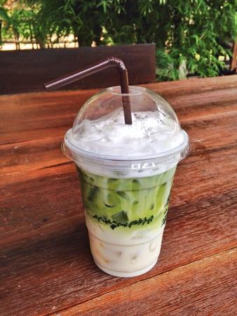 aqua: Ice milky greentea