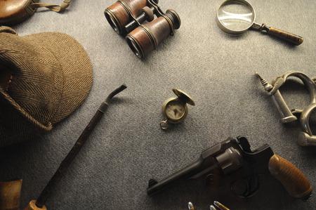 De vintage detective collectie