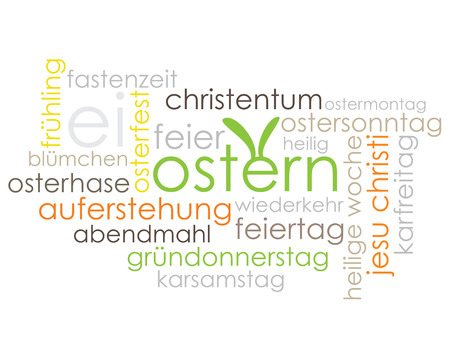 pentecost: Easter Tag Cloud - Easter, Christianity, Holidays