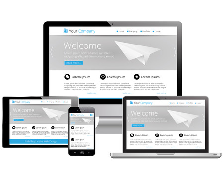 capable: Mobile Responsive Webdesign - Computer, Laptop, Tablet, Smartphone