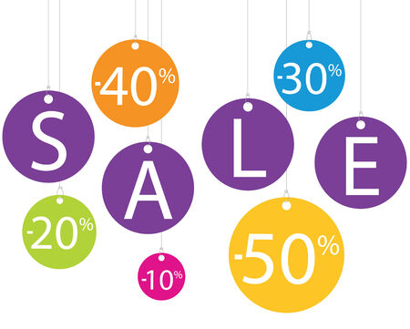 closing: Sale advertising colored up to 50 percent