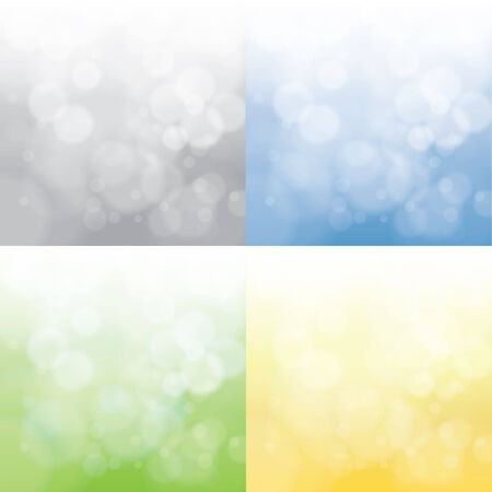 spring, summer, autumn and winter abstract