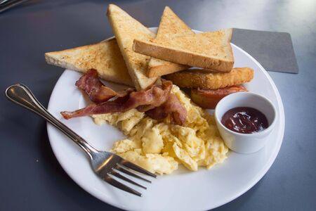Desayuno Americano Foto de archivo - 31630533