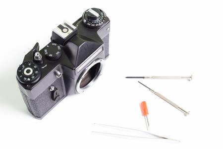 Repair of old camera