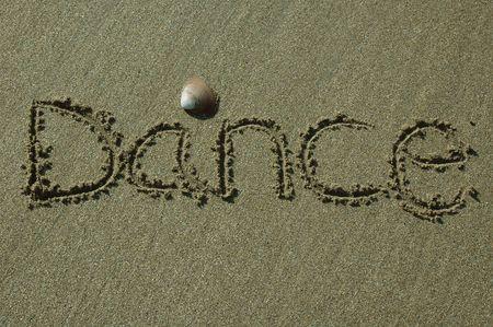 Sand Writing - Dance
